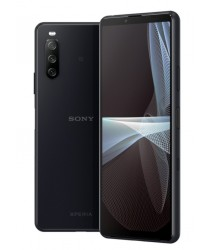 Sony Xperia 10 III Water Resistant Mobile with Fast Charging Black