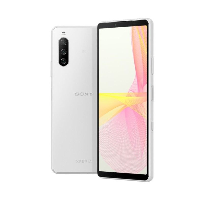Sony Xperia 10 III Water Resistant Mobile with Fast Charging White