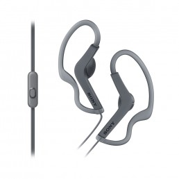 Sony MDRAS210APB Ear-hook Binaural Wired Black mobile headset