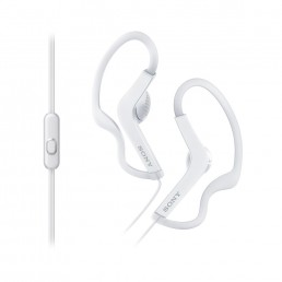 Sony MDRAS210APW Ear-hook Binaural Wired White mobile headset