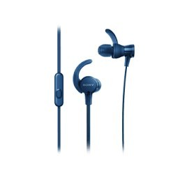 Sony MDR-XB510AS In-ear Binaural Wired Blue mobile headset