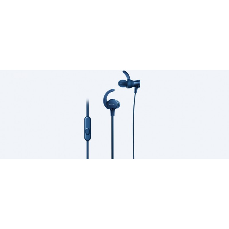 Sony MDR-XB510AS In-ear Binaural Wired Blue mobile headset