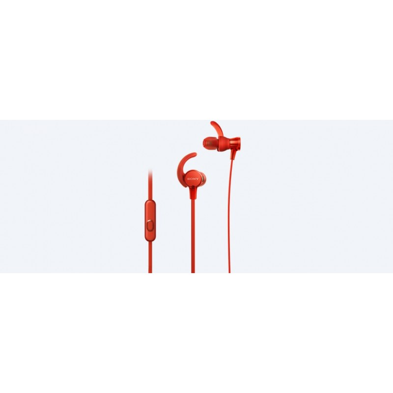 Sony MDR-XB510AS In-ear Binaural Wired Red mobile headset