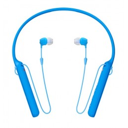 Sony WI-C400 In-ear, Neck-band Binaural Wireless Blue mobile headset