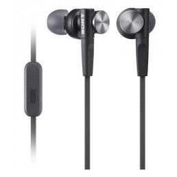 Sony MDR-XB50AP In-ear Binaural Wired Black mobile headset