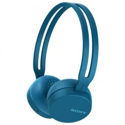 Sony WH-CH400L Head-band Binaural Wireless Blue mobile headset