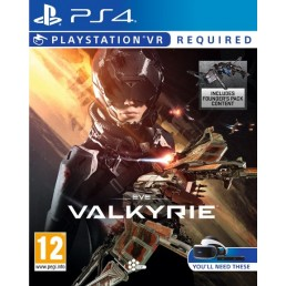 Sony Eve  Valkyrie, PS VR PlayStation 4 video game