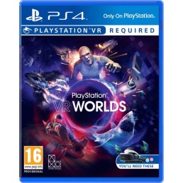 Sony VR Worlds, PlayStation VR Basic PlayStation 4 English video game