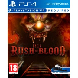 Sony Until Dawn  Rush of Blood, PlayStation VR Basic PlayStation 4 video game