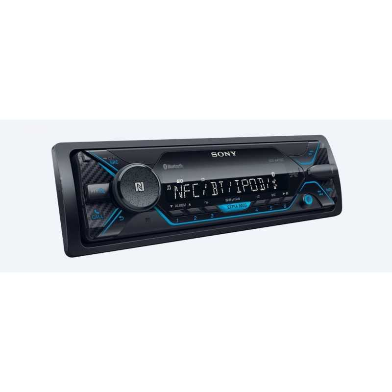 sony dsx a410bt bluetooth black car media receiver cyprus sony ce. Black Bedroom Furniture Sets. Home Design Ideas
