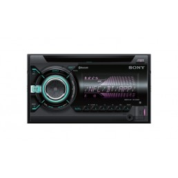 Sony WX-900BT 220W Bluetooth Black car media receiver