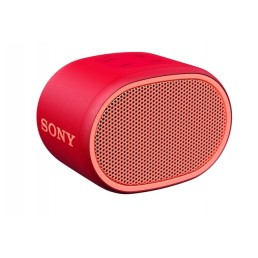 Sony SRS-XB01 Compact Portable Water Resistant Wireless Bluetooth Speaker with Extra Bass - Red