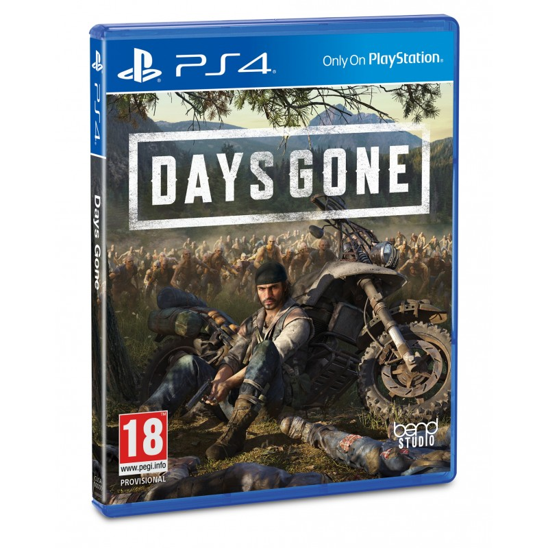 Sony Days Gone, Playstation 4 video game Basic English, Italian