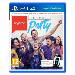 Sony SingStar Ultimate Party video game PlayStation 4 Basic