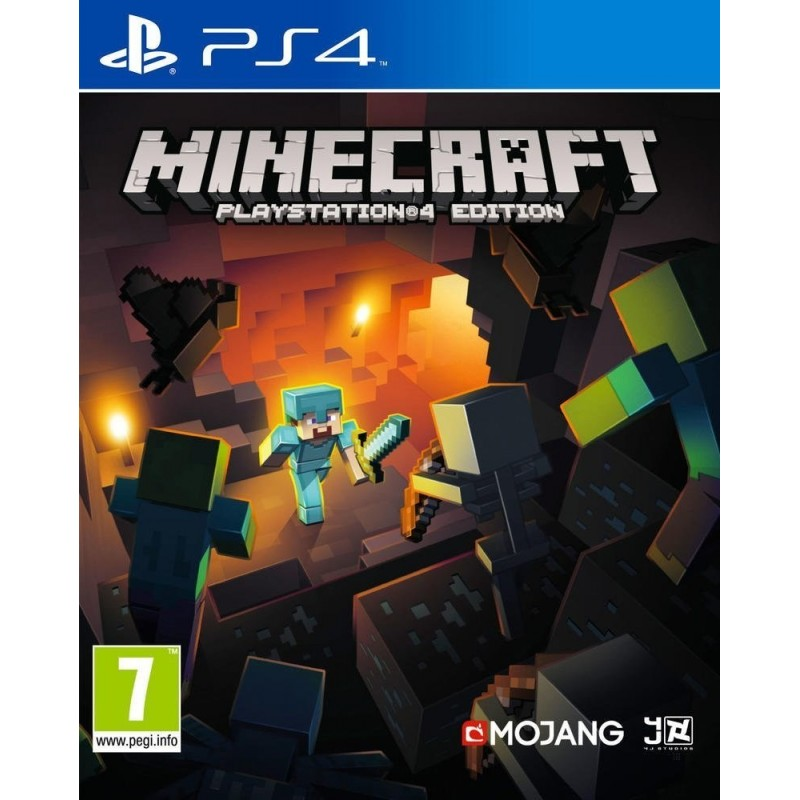 Sony Minecraft, PS4 video game PlayStation 4 Basic English