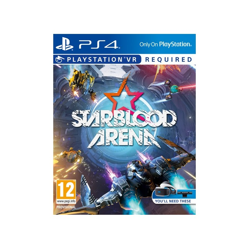 Sony Starblood Arena VR video game PlayStation 4 Basic