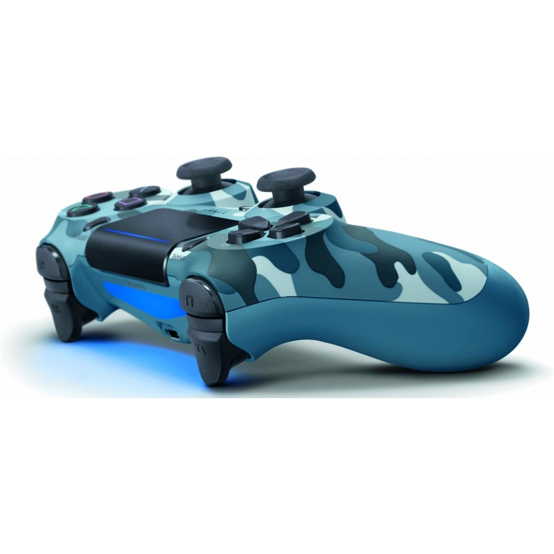 Sony DualShock 4 Gamepad PlayStation 4 Analogue   Digital Bluetooth Blue,Camouflage
