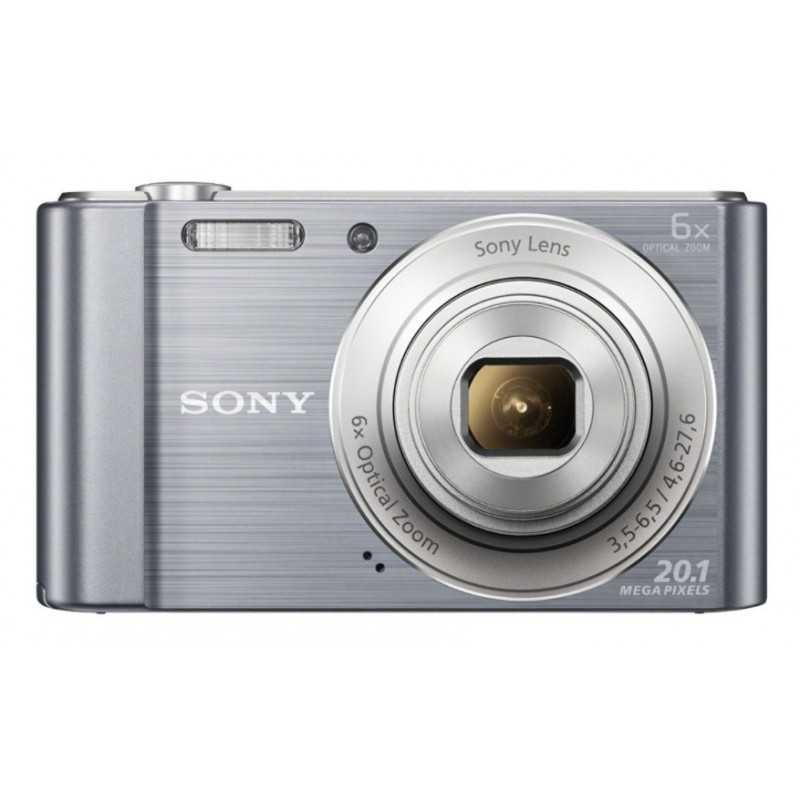 "Sony Cyber-shot DSC-W810 Compact camera 20.1MP 1 2.3"" CCD 5152 x 3864pixels Silver"