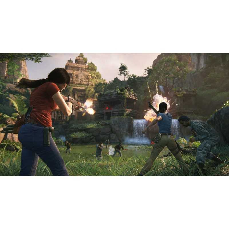Sony Uncharted  The Lost Legacy, PS4 video game PlayStation 4 Basic