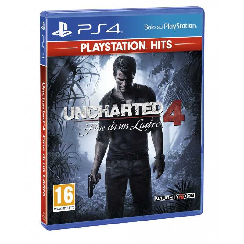 Sony Uncharted 4  A Thief's End, PS4 video game PlayStation 4 Basic English, Italian