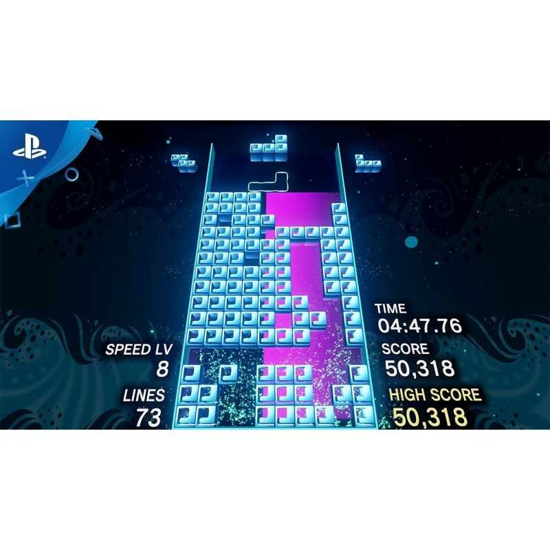 Sony Tetris Effect VR video game PlayStation 4 Basic English