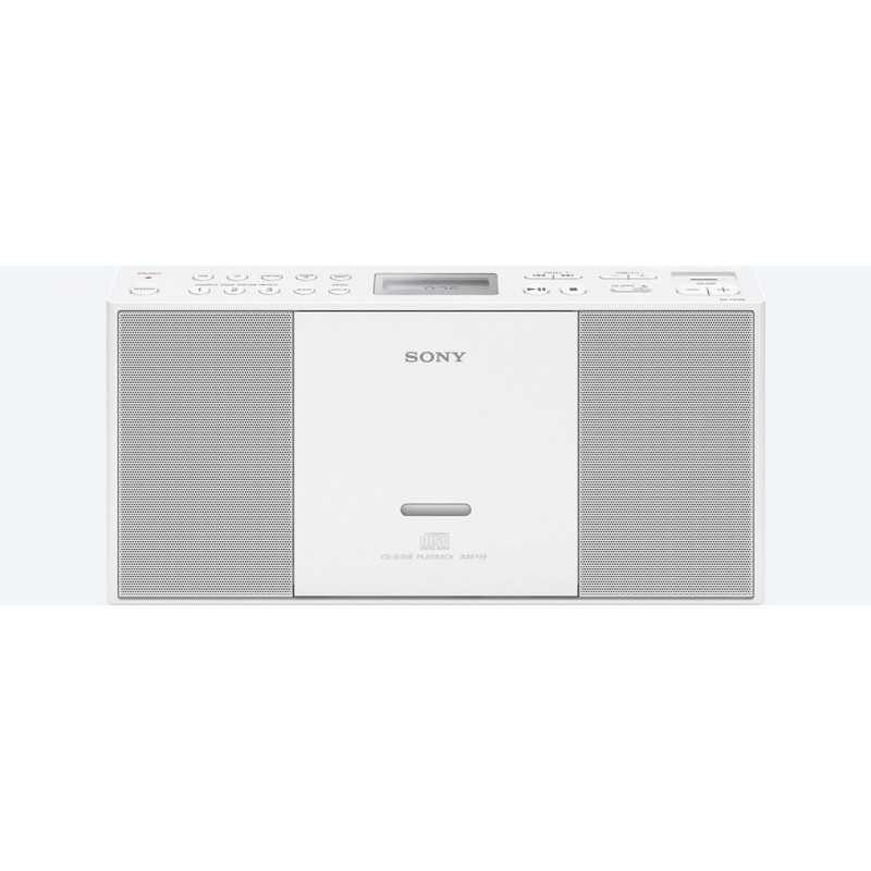 Sony ZS-PE60 Digital 2.2W White CD radio