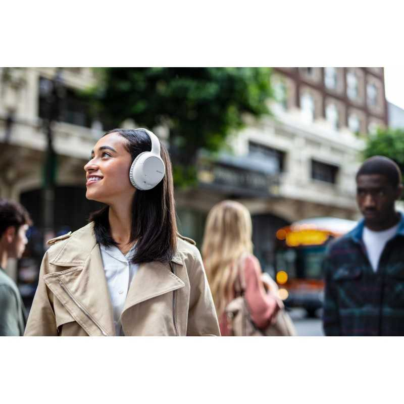 Sony WH-CH710N Wireless Noise Cancelling Headphones - 35 hours battery life - Around-ear style - Built-in mic for phone calls