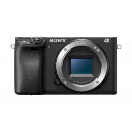 Sony α 6400 MILC Body 24.2 MP CMOS 6000 x 4000 pixels Black
