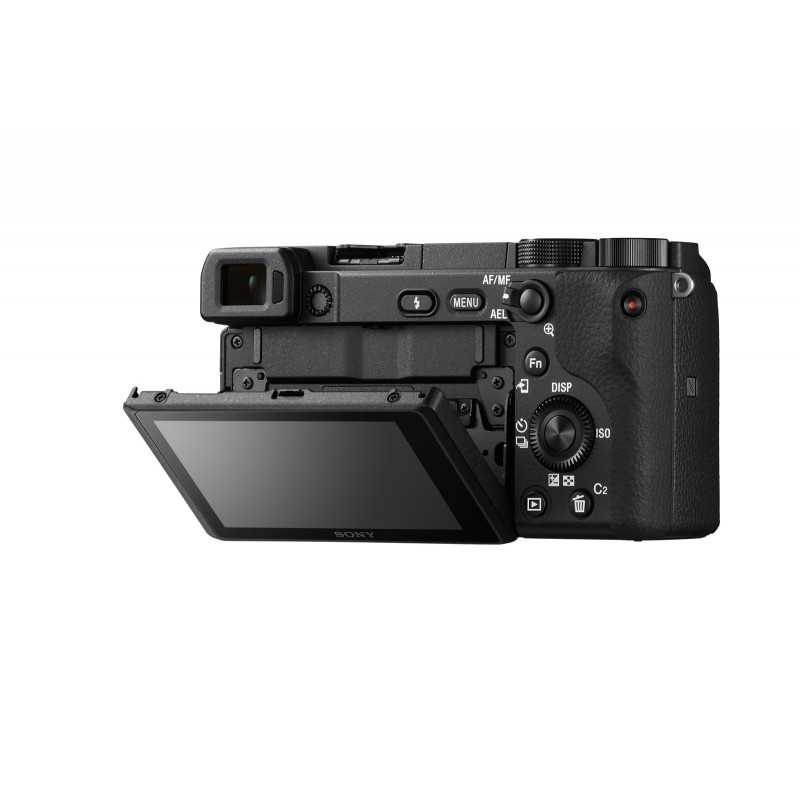 Sony α 6400 MILC Body 24.2 MP CMOS 6000 x 4000 pixels Black