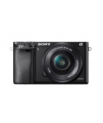 Sony Alpha ILCE-6000L/B a6000 Digital Camera with 16-50mm Lens