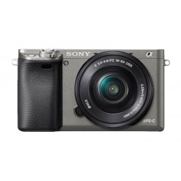 Sony α ILCE-6000 + E PZ 16-50mm MILC 24.3MP CMOS 6000 x 4000pixels Black,Graphite