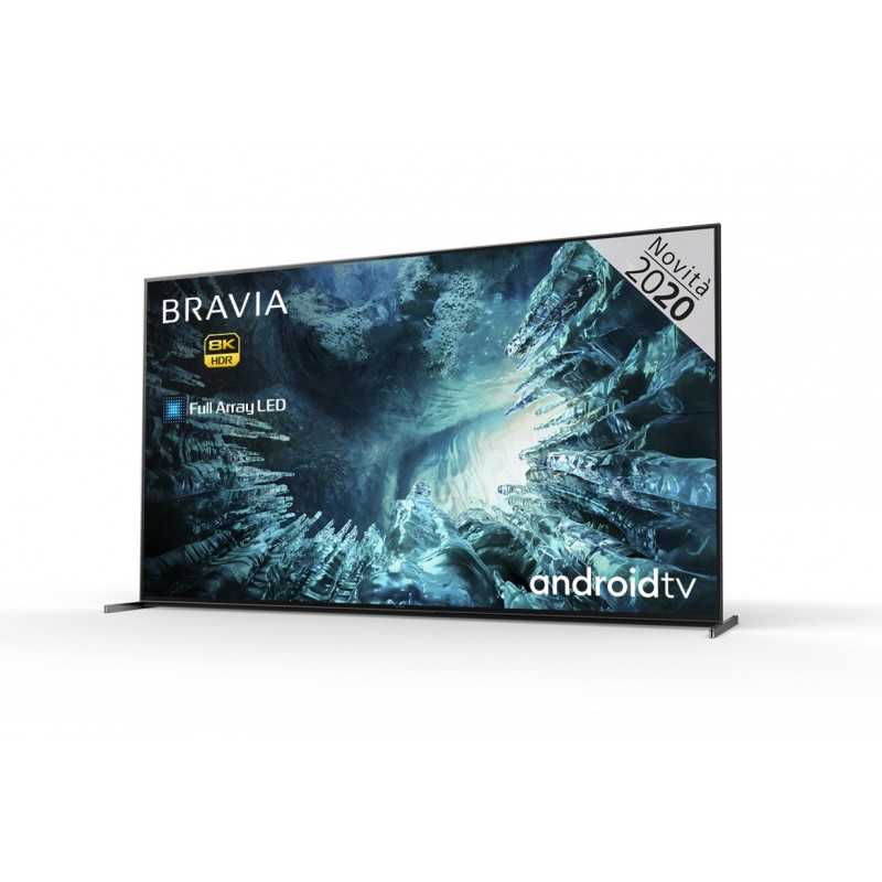 "Sony KD75ZH8BAEP TV 190.5 cm (75"") 8K Ultra HD Smart TV Wi-Fi Silver"