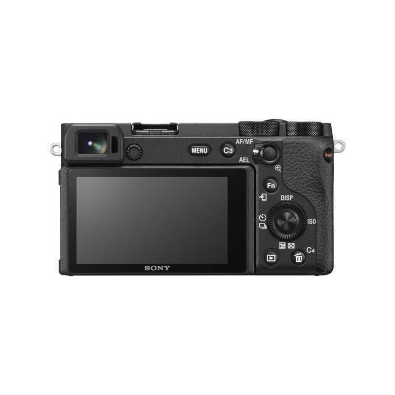 Sony α ILCE6600B SLR Camera Body 24.2 MP CMOS 6000 x 4000 pixels Black